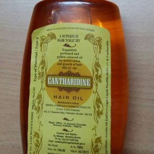 Cantharidine Hair Oil 400 ml - BENGAL CHEMICALS