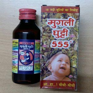 MUGLI GHUTTI 555 100ML - Shri Ayurved Bhawan.
