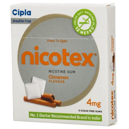 NICOTEX CINNAMON GUM-CIPLA