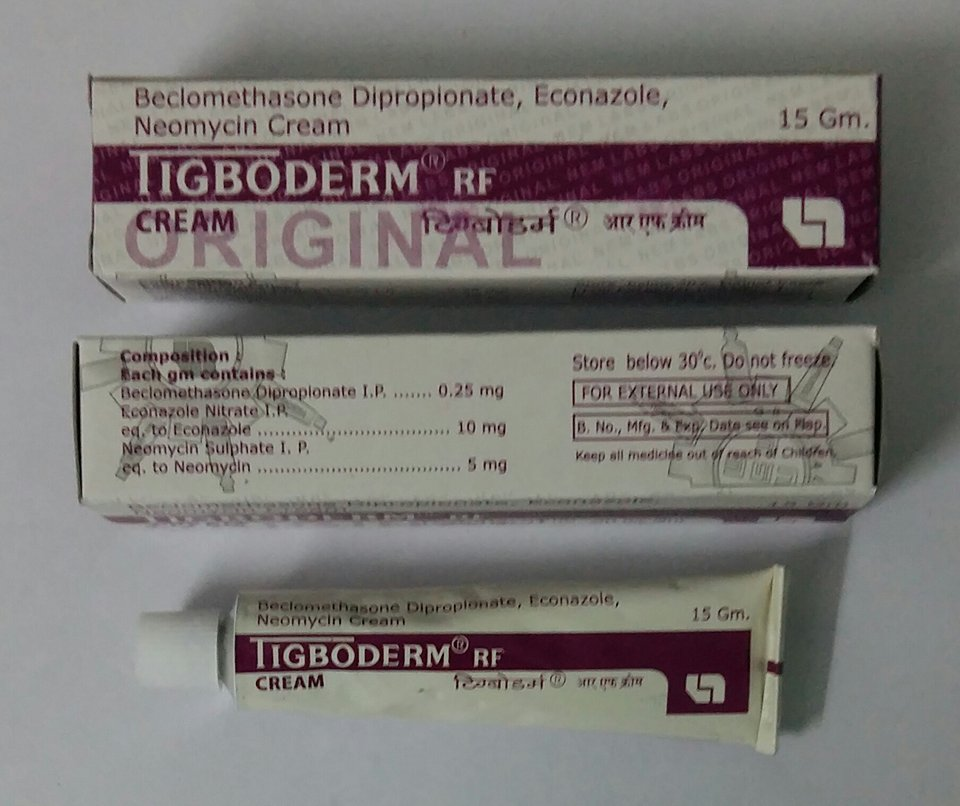 TIGBODERM CREAM 15GM – Nem Laboratories