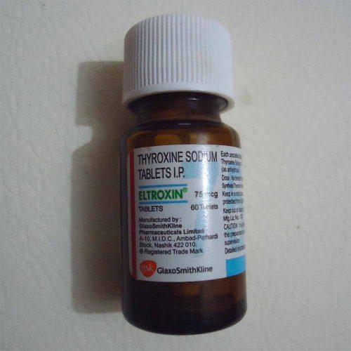 Eltroxin 75 Mcg Tablet Glaxo Smithkline