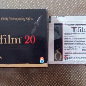 T FILM 20MG DISINTEGRATING STRIP>Delvin Formulations Pvt Ltd Company's