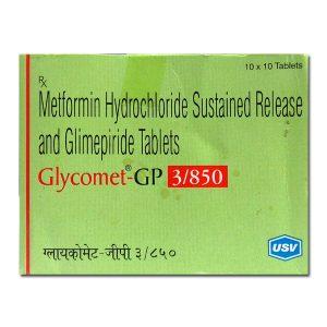 GLYCOMET GP 3 TABLET – USV Ltd