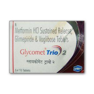 GLYCOMET TRIO 2 TABLET – USV Ltd