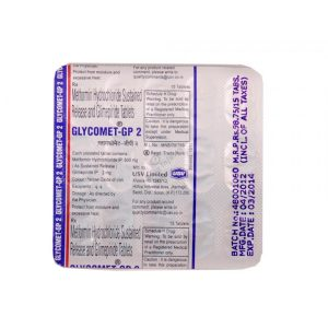 GLYCOMET GP 2 TABLET – USV Ltd