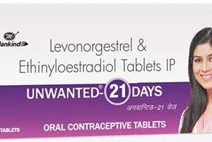 UNWANTED PREGCARD 21 DAYS TABLET_21 tablet _Mankind Pharma