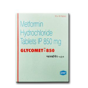 GLYCOMET 850 TABLET – USV Ltd