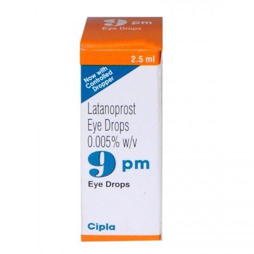 9 PM EYE DROP-2.5 ML -CIPLA LTD
