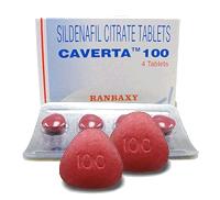 Caverta 100mg tablet