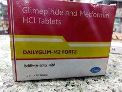 DAILYGLIM M  2 FORTE TABLET