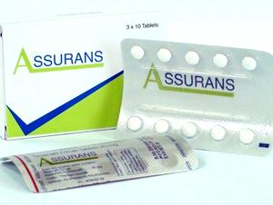 ASSURANS 20MG TABLET - Cipla Ltd