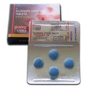 VISTAGRA 100 mg TABLET-4 tablets -CADILA PHARMACEUTICALS