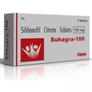 SUHAGRA 100MG TABLET - CIPLA LTD