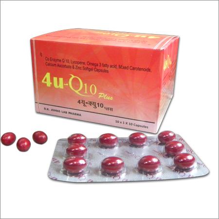 4U Q10 PLUS CAPSULE-10 capsules-Dr.John Labs