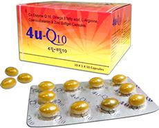 4U Q10 CAPSULE-10 capsules-Dr.John Labs