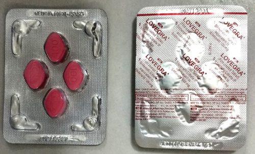 Lovegra 100mg Tablet