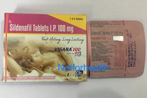 Vigara 100 tablets fast acting & long lasting