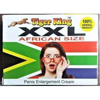 TIGER KING XXL AFRICAN SIZE CREAM 100% HERBAL