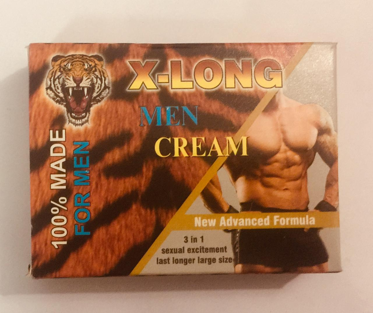 X LONG CREAM NEW ADVANCED FORMULA ONLY FOR MEN