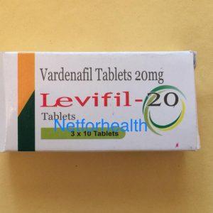 LEVIFIL 20 ( VARDENAFIL ) TABLETS