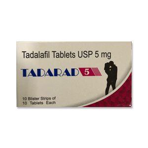 TADARAD 5 ( TADALAFIL ) TABLETS